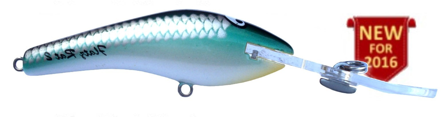 Killalure Flatz Rat 2 +10 Hard Body Lure