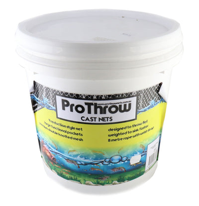 Pro Throw Top and Bottom Pocket Cast Net