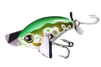 Jackall Micro Pompadour 42mm 6.5g Topwater Noisy Bait Fishing Lure