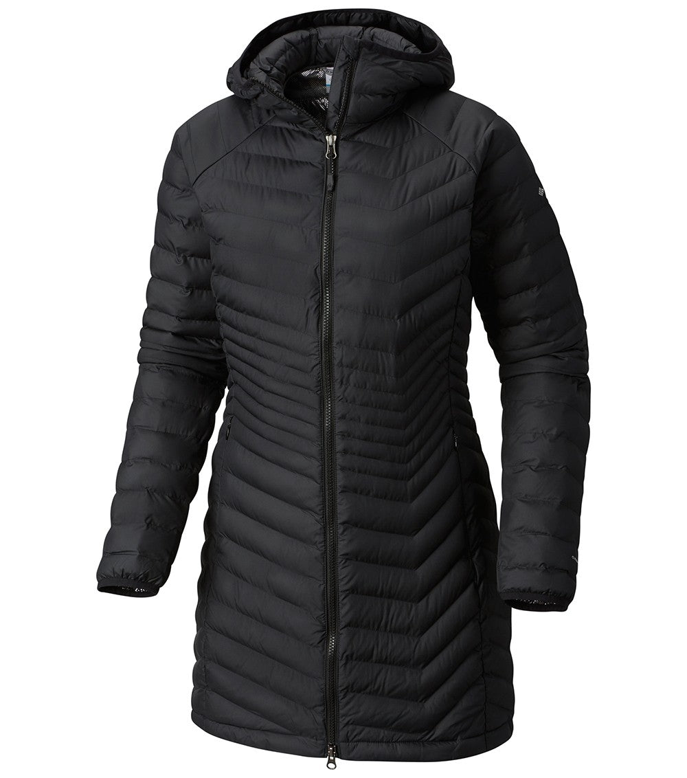 Columbia Powder Lite Womens Black Mid Jacket