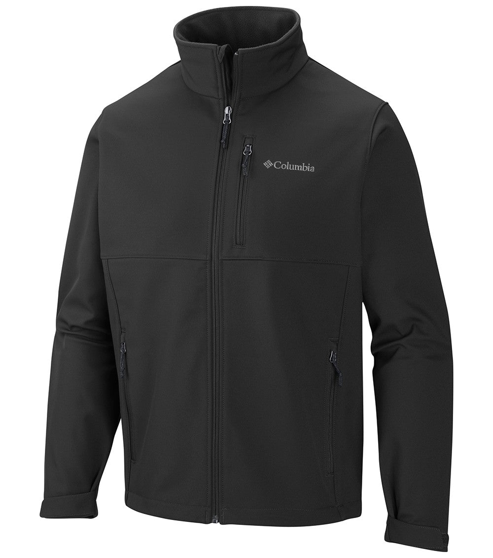Columbia Ascender Softshell Mens Jacket Black