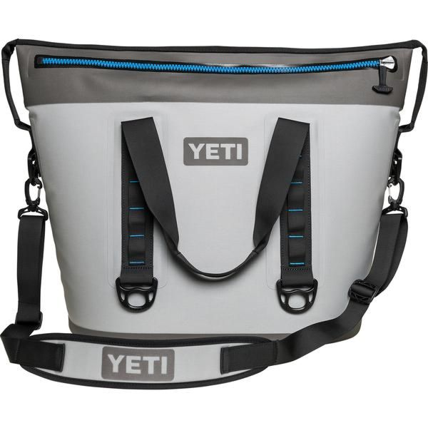 YETI Hopper Flip Fog Gray Tahoe Blue Cooler - 20