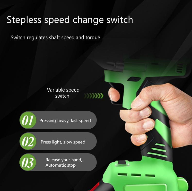 Brushless lithium electric wrench
