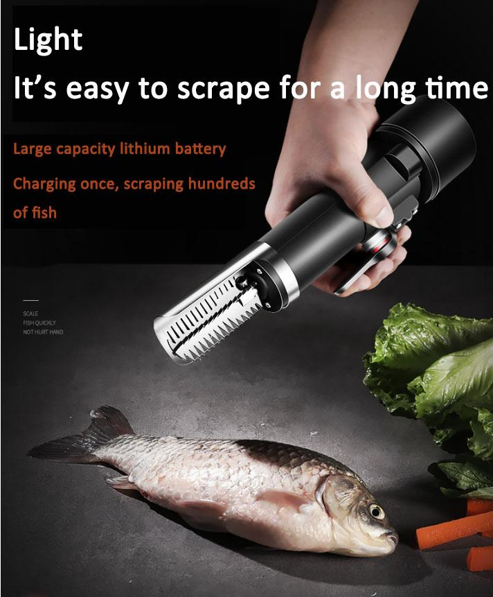 Electric scraping scales / kill fish artifact / automatic fish scale machine / household fish scale planer / fish scale brush