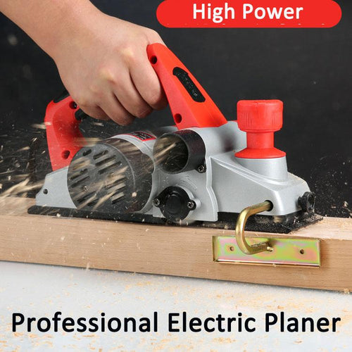 Household small multi-function portable desktop carpenter woodworking tools / electric plane planer