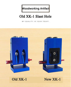 XK-1 woodworking slant hole / hole punch / inclined hole locator / woodworking tools / woodworking punching
