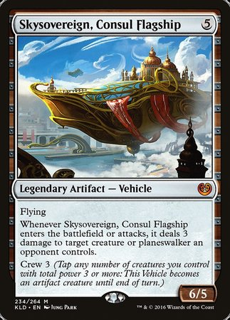 Kaladesh English 1x Skysovereign Consul Flagship NM-Mint