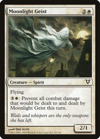 Moonlight Geist [Avacyn Restored] - [swordnboard] | Dark Ninja Gaming LA