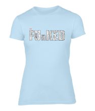 Load image into Gallery viewer, Just Funked Ladies Fitted T-Shirt