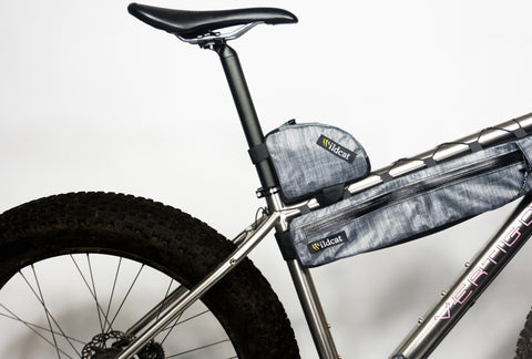 Cheetah Top Tube Bag