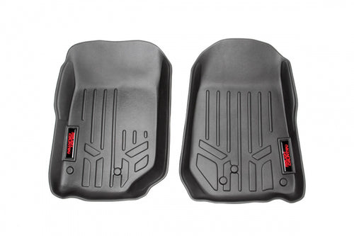HEAVY DUTY FLOOR MATS [FRONT] - (07-13 JEEP JK WRANGLER) - JK Performance