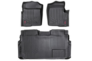 HEAVY DUTY FLOOR MATS [FRONT/REAR] - (09-12 FORD F-150 SUPERCREW CAB) - JK Performance