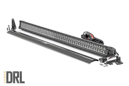 50-INCH CREE LED LIGHT BAR - (DUAL ROW |  W/ COOL WHITE DRL) - JK Performance