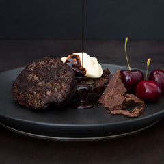 Double Choc Cherry Pudding