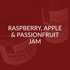 Raspberry Apple & Passionfruit Jam