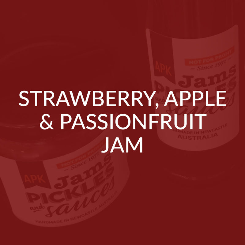 Strawberry Apple & Passionfruit Jam