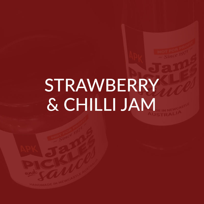 Strawberry & Chilli Jam