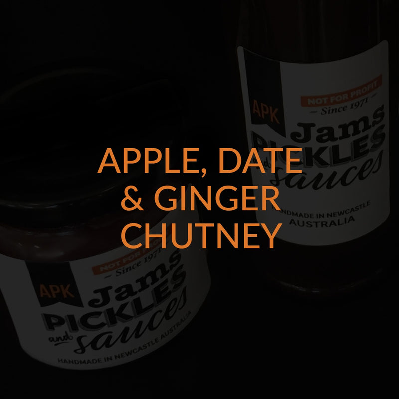Apple Date & Ginger Chutney