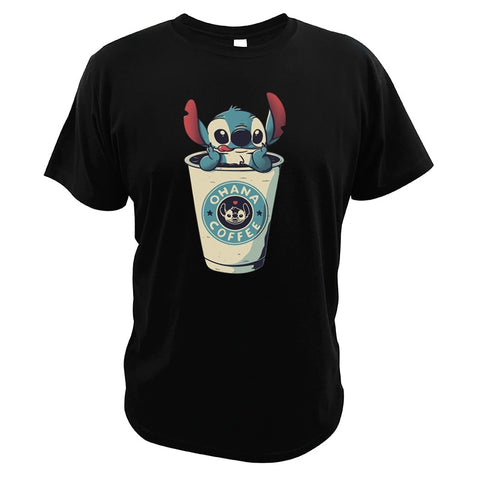 Disney Lilo and Stitch Coffee T-Shirt