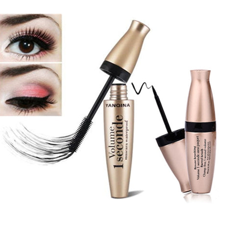 2pcs/set mascara + eyeliner makeup