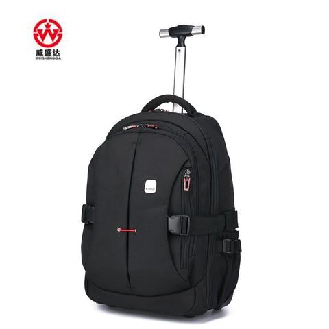 Men Oxford Travel trolley Luggage bags