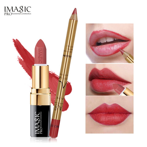 2Pcs Easy Waterproof  Makeup  Lip liner