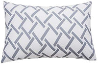 Mohap Pillowcases Set of 2 Super Soft and Durable Brushed Microfiber Plush Experience Machine Washable Queen, Geometric Gray