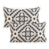 MR FANTASY Geometric Throw Pillow Cover Cases Rectangular Decorative Boho Lumbar Cushion Covers Cases for Couch Sofa Bed 12x20 Poker Clubs Design