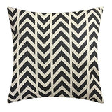 NATURALSHOW Cotton Linen Home Decorative Aztec Print Tribal Throw Pillow Case Cushion Cover for Sofa Couch Chair Geometric Pattern Pillowcases