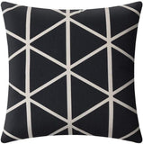 Boryard Decorative Pillow Covers Standard Size Geometric Print Pillow Covers 18 x 18 Inches Set of 4