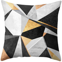 Meiyuan Geometric Pattern Cushion Cover Throw Pillow Case Home Bedroom Sofa Decor 1#