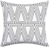 BLEUM CADE Set of 4 Modern Throw Pillow Cover Geometry and Arrow Pillow Covers for Sofa Couch Chair Bedroom Office Car