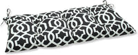 Pillow Perfect Indoor/Outdoor New Geo Black/White Swing/Bench Cushion