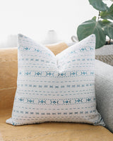 Woven Nook Decorative Throw Pillow Covers ONLY for Couch, Sofa, or Bed Set of 2 18 x 18 inch Modern Quality Design 100% Cotton Mudcloth Geometric Bondi Set