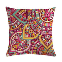 Bible Mandala Middle East Armenia India Oriental Bliss Sun Moon Ararat Flower Arabesque Cushion Cover Sofa Throw Pillow Case