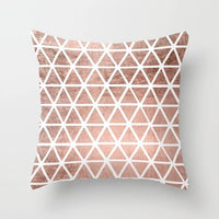 Pink Throw Pillow Cushion Covers Decorative Letter Dot Geometric Flowers Pineapple Map home decoration accessories 45cmx45cm
