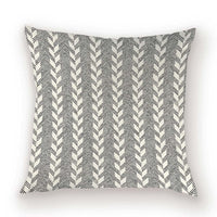 Geometric Farmhouse Pillow Case Nordic Decoration Home Decor Cushion Cover Line Stripe Sofa Cushions Cases 45x45 Pillows Covers