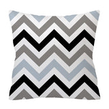 ZENGIA Nordic Gray Cushion cover 45*45cm Polyester Geometric pillow cover decorative Pillows Home Decoration Throw Pillowcase