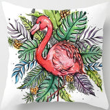 ZENGIA Nordic Flamingo Cushion Cover 45x45cm Polyester Unicorn Pillow Cover Dream Catcher Decorative Pillow Case for Sofa Home