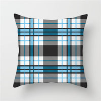 Fuwatacchi Simple Geometric Cushion Cover Diamond Striped Wave  Throw Pillow Cover Decorative Sofa Pillow Case Pillowcase 45x45