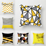 Fuwatacchi Irregular Geometric Cushion Covers Diamond Square Pillow Cases For Car Bedroom Sofa Decorative Throw Pillows Covers
