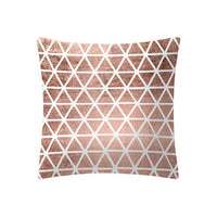 Rose Gold Pink Cushion Cover Square Pillowcase Home Decoration cojines decoracion throw pillows almofada fundas cojin 2020