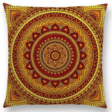 Hippie Mandala Boho Rainbow Floral Pattern Cushion Vintage Circle Cover Sofa Home Decor Throw Pillow Case