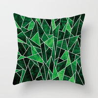 Colorful Geometry Pattern  Cushion Covers Home Decorative Pillows Case Throw Pillows Cover Map Velvet Pillow Case For Sofa