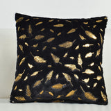 Fur Cushion Cover Pillowcases Solid Color Brown White Gray Pink Red Black Decorative Pillows Gold Feather Throw Pillow Covers