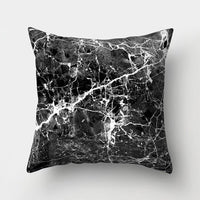 ZENGIA Marble Cushion Cover 45x45cm Polyester Geometric Pillow Cover Decorative Pillows/Cushion For sofa/Home Decor Pillowcase