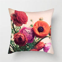 Fuwatacchi Euro Style Home Decor Cushion Cover Rose Flower Throw Pillow for Sofa Mediterranean Style Pillow Case for Mothers Day