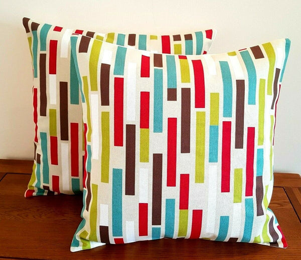 "14"" 16"" 18"" New Cushion Cover iLiv Azari Multi Geometric Print Handmade"