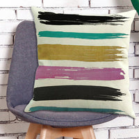 Geometric Printing Pillowcases Sofa Car Bedroom Linen Throw Pillow Cover Cushion