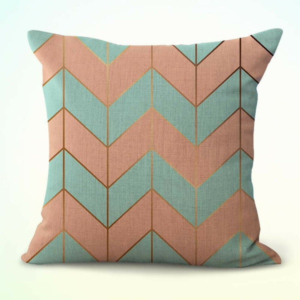US Seller- throw pillow covers mable chevron geometric cushion cover